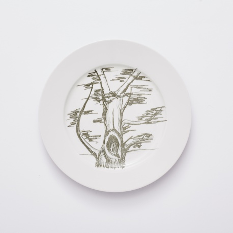 Evženie 2, kolekce Dub, symbol naseho detstvi -velky talir 26cm
