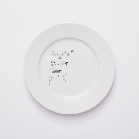 Věra 5, kolekce letenske sady, Stromovka – velky talir 26 cm
